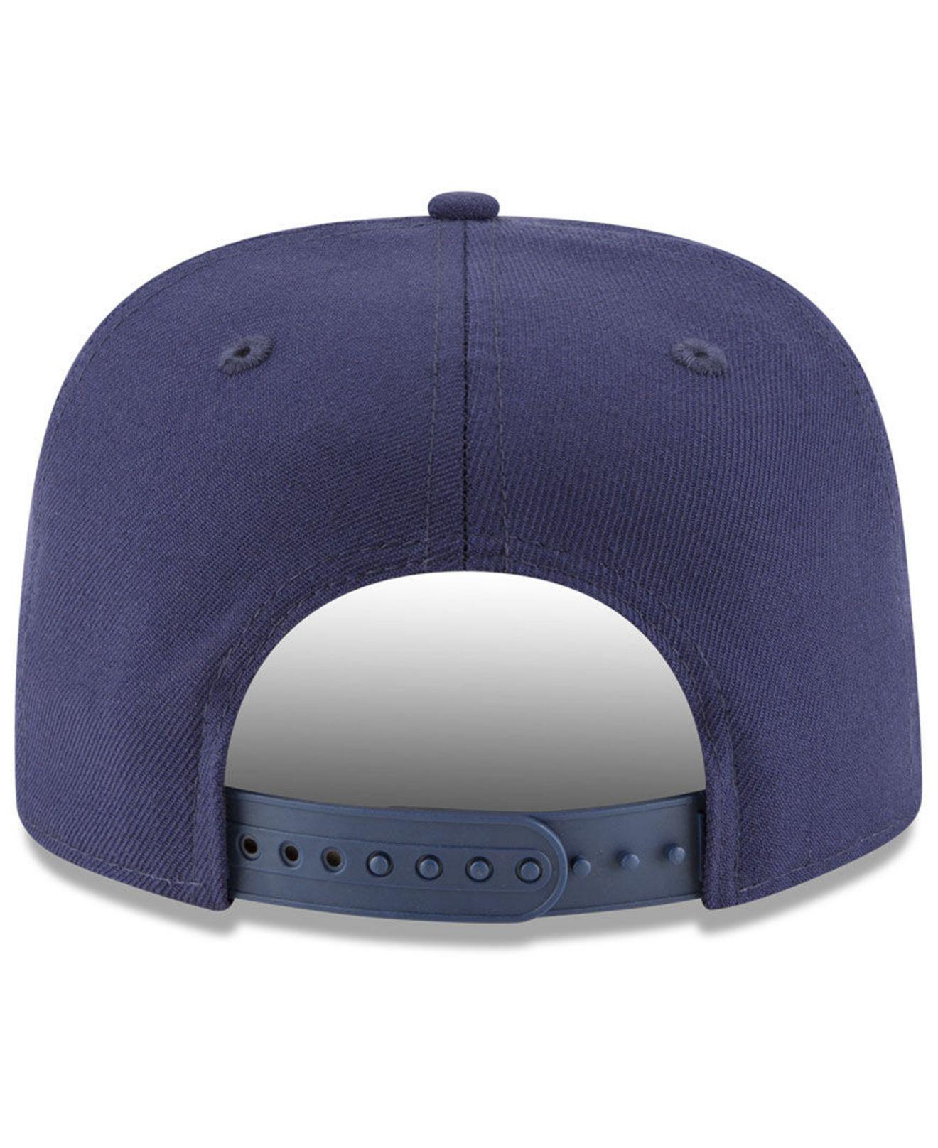 04f9782bf2b Lyst - KTZ Los Angeles Angels Vintage 9fifty Snapback Cap in Blue ...