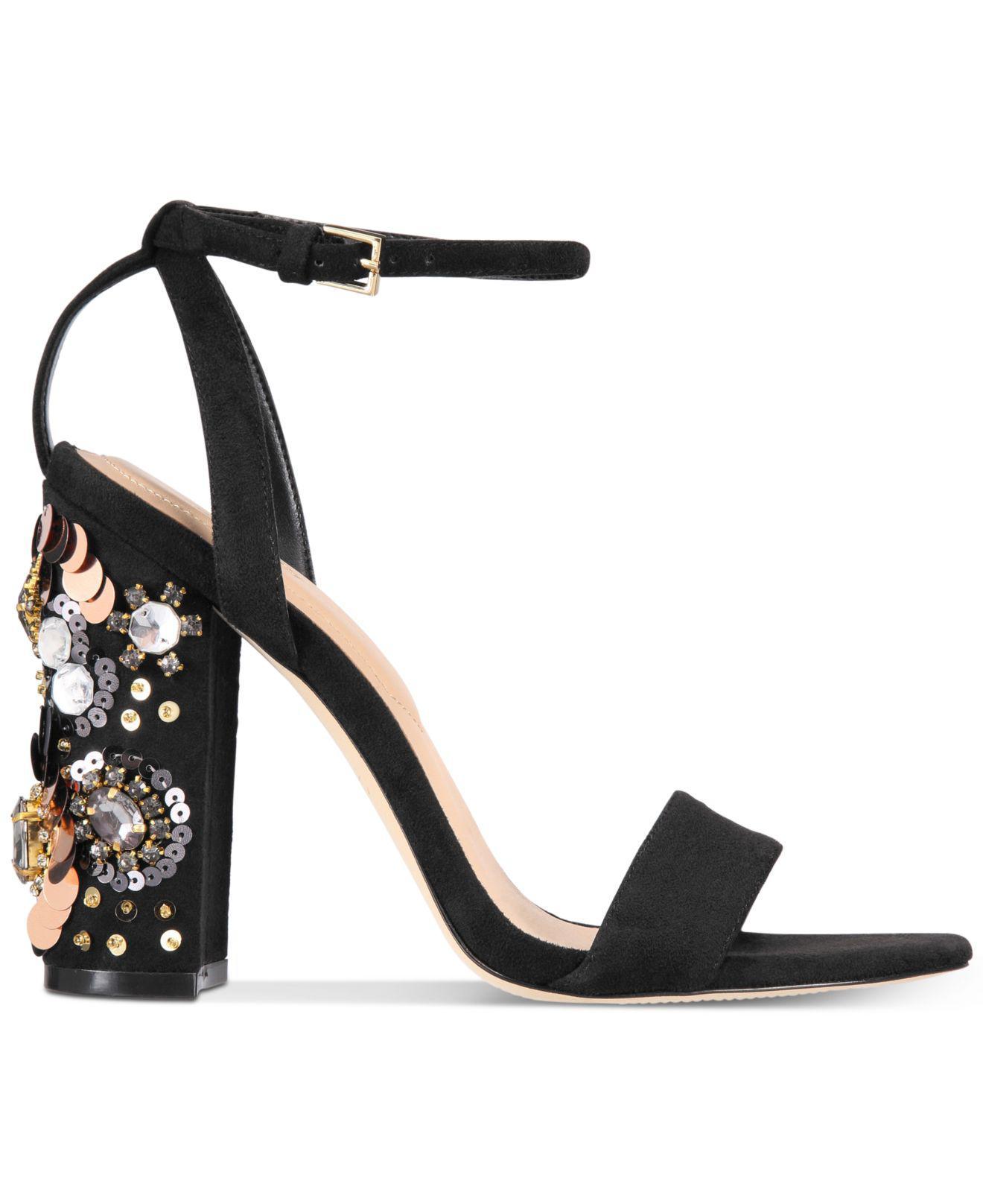 c123d943fc8 Lyst - ALDO Luciaa Two-piece Dress Sandals in Black