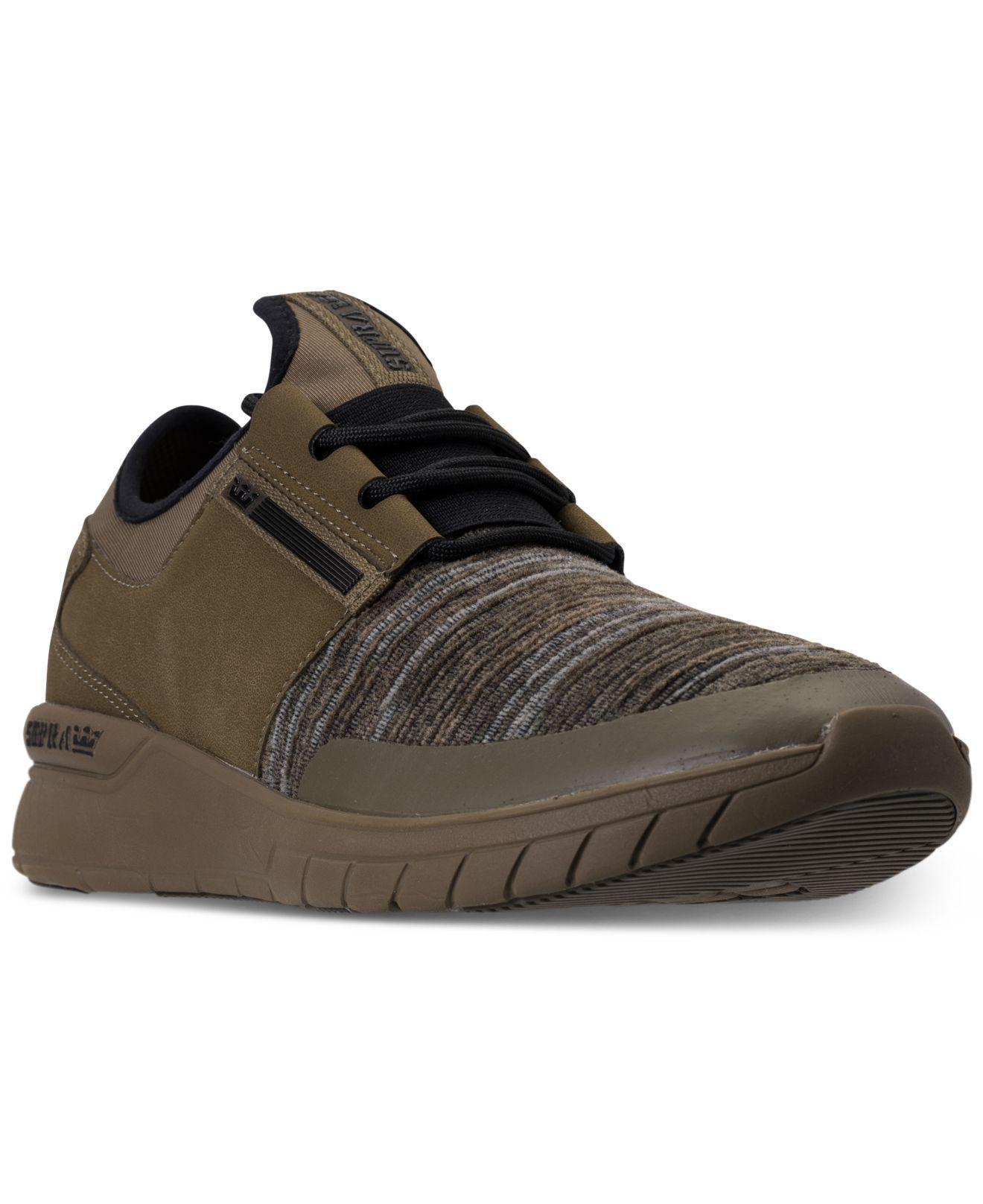 Lyst - Supra Flow Run Casual Skate Sneakers From Finish Line for Men 909bcebc0db