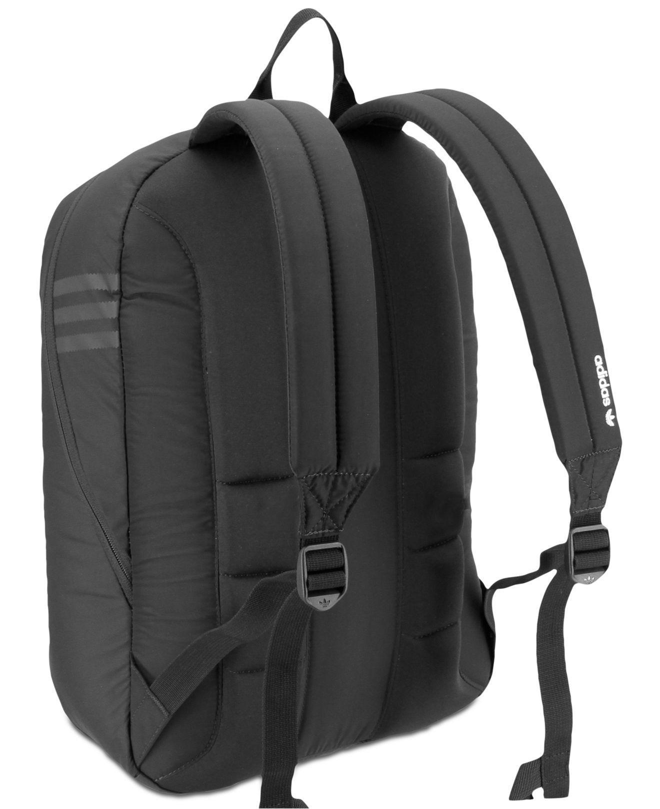 14e9156667f5 Lyst - adidas Originals National Plus Backpack in Black for Men