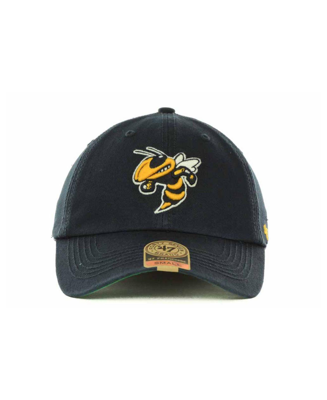 wholesale dealer ac7da c4ba5 47 Brand Georgia Tech Yellow Jackets Franchise Cap in Blue for Men - Lyst