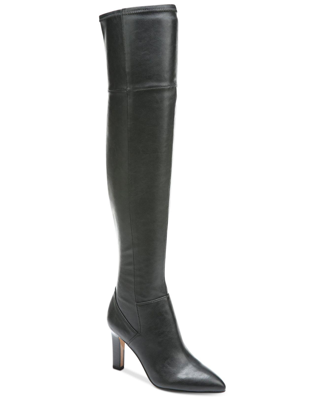 552124f217c Lyst - Franco Sarto Katie Over-the-knee Boots in Black