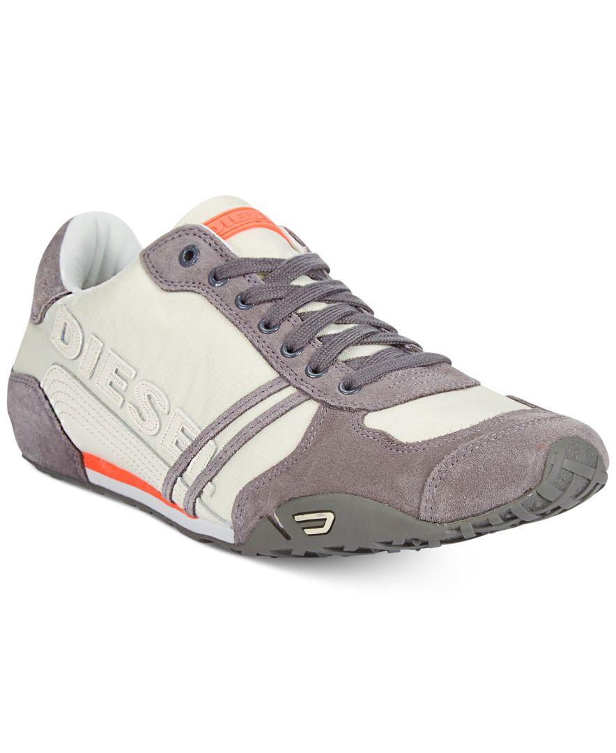 Diesel Harold Solar Sneakers in Gray for Men (Vaporous ...