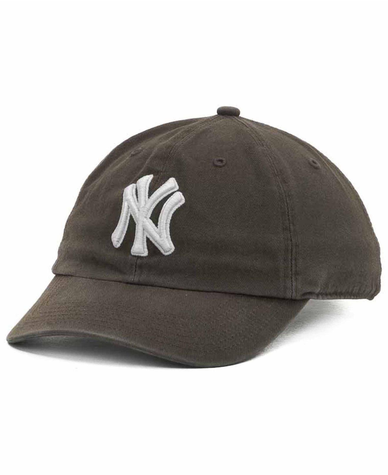 be5970e7f6f Lyst - 47 Brand New York Yankees Clean Up Hat in Brown for Men