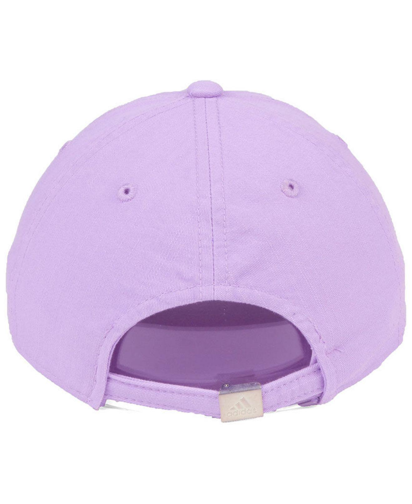fb0dc0dfdea ... coupon code for adidas purple dc united pink slouch cap lyst. view  fullscreen aec36 edf2f