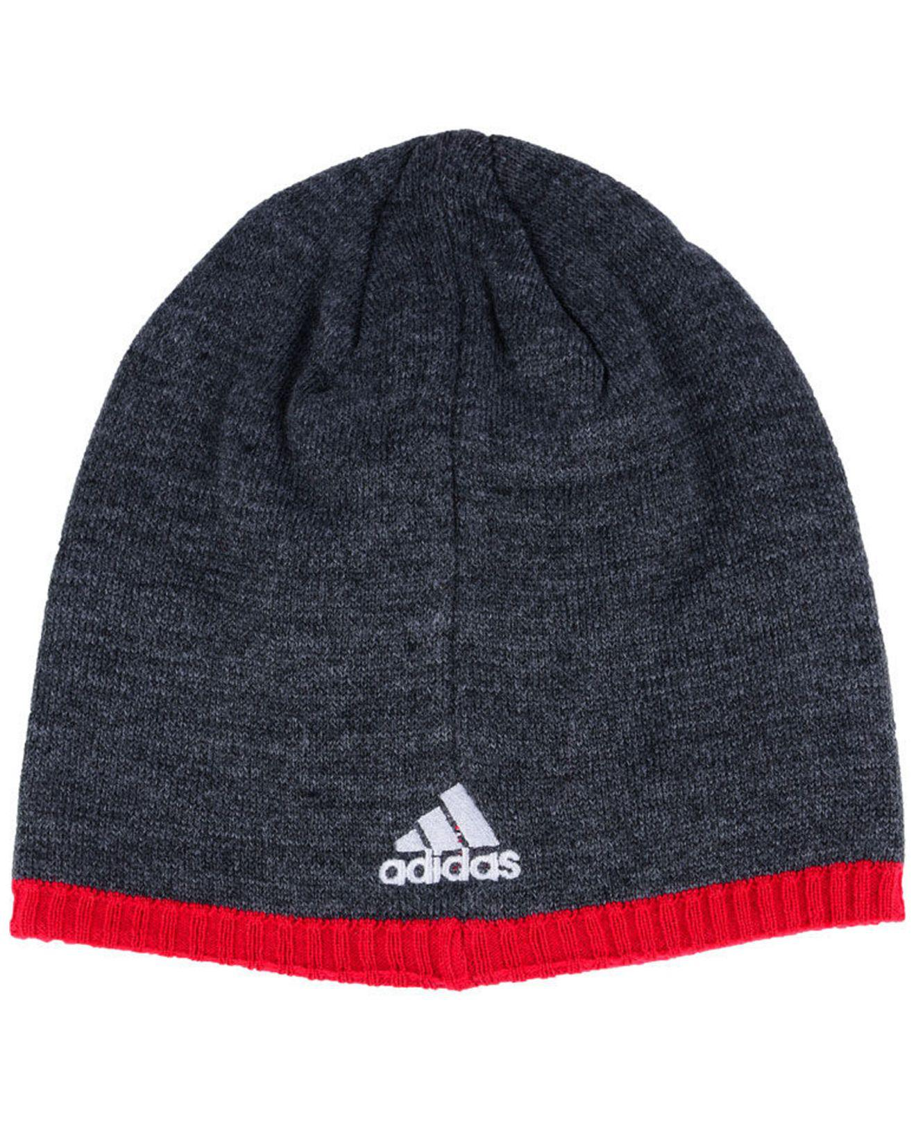 best sneakers 5cad0 0770d ... best lyst adidas washington capitals heather beanie for men f90bf 27bef