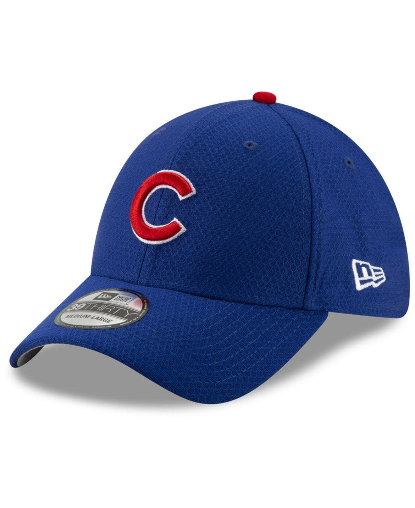 52e864a1 Lyst - KTZ Chicago Cubs Batting Practice 39thirty Cap in Blue for Men