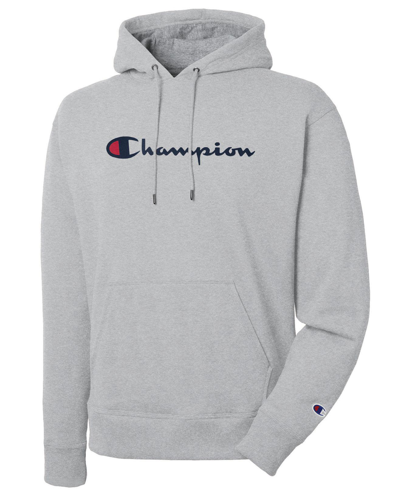 ef08facfda0f Champion - Gray Sweatshirt for Men - Lyst. View fullscreen