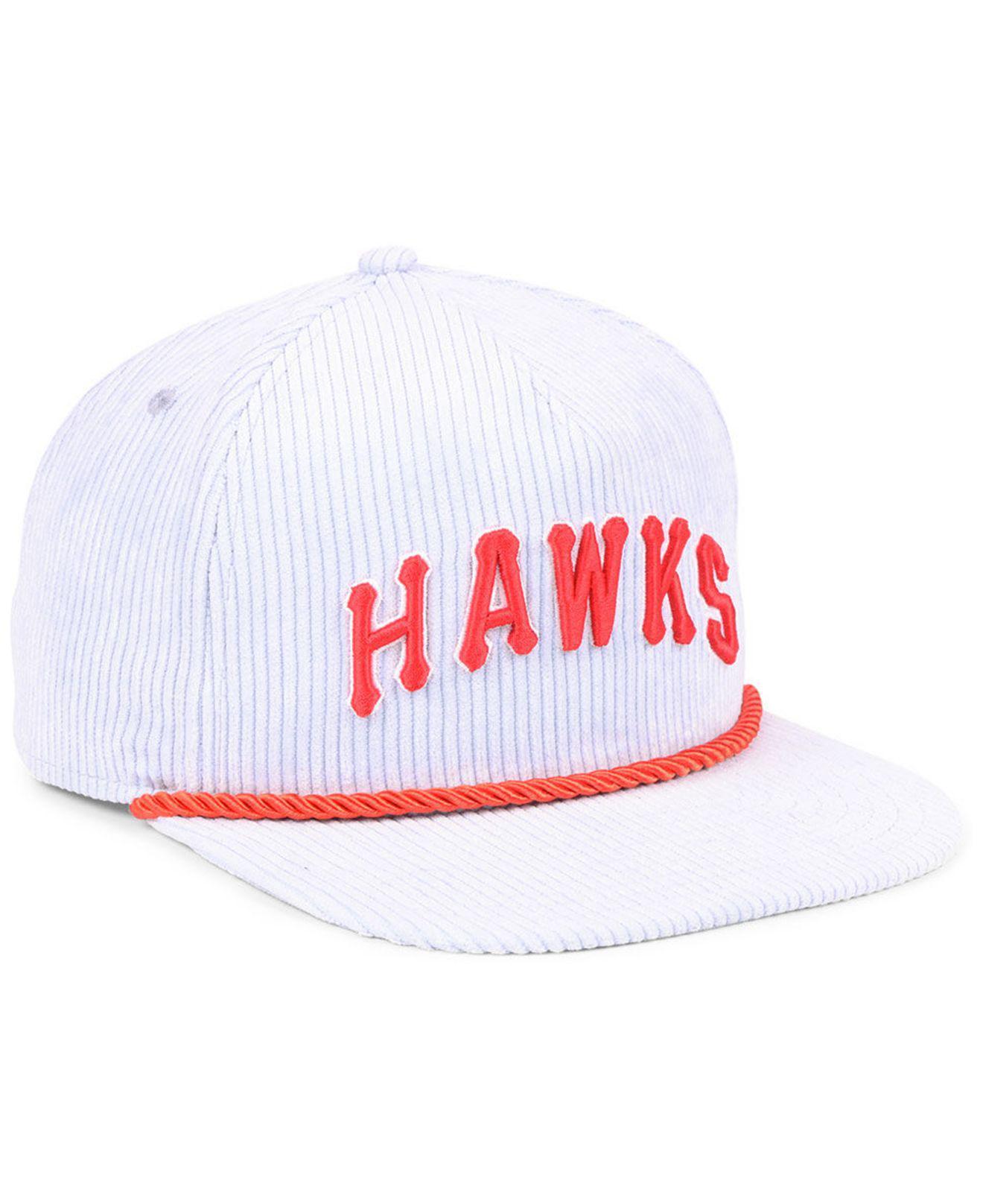 KTZ - Multicolor Atlanta Hawks Hardwood Classic Nights Cords 9fifty  Snapback Cap for Men - Lyst. View fullscreen eaf78db0a