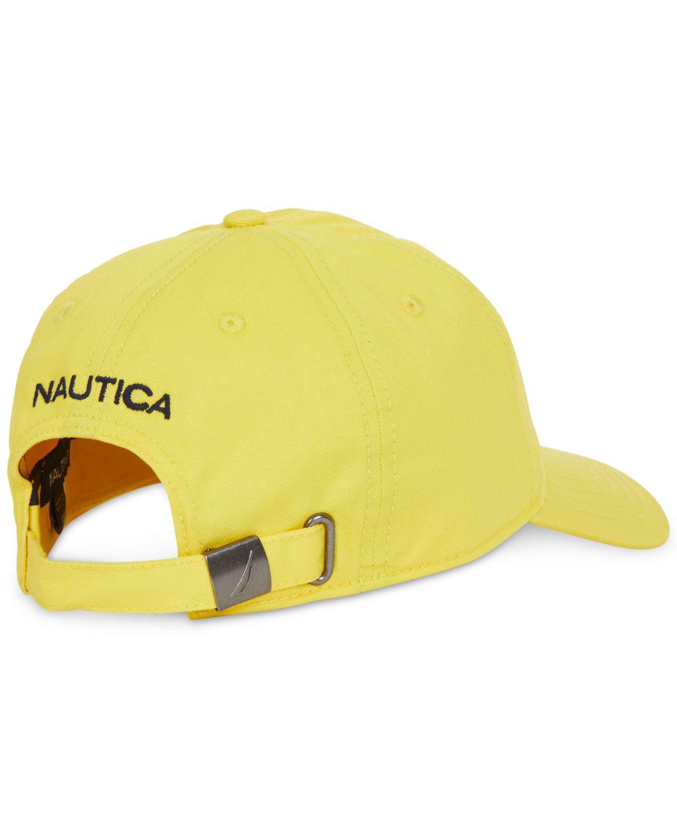 Lyst - Nautica Baseball Hat in Yellow for Men b1167348285