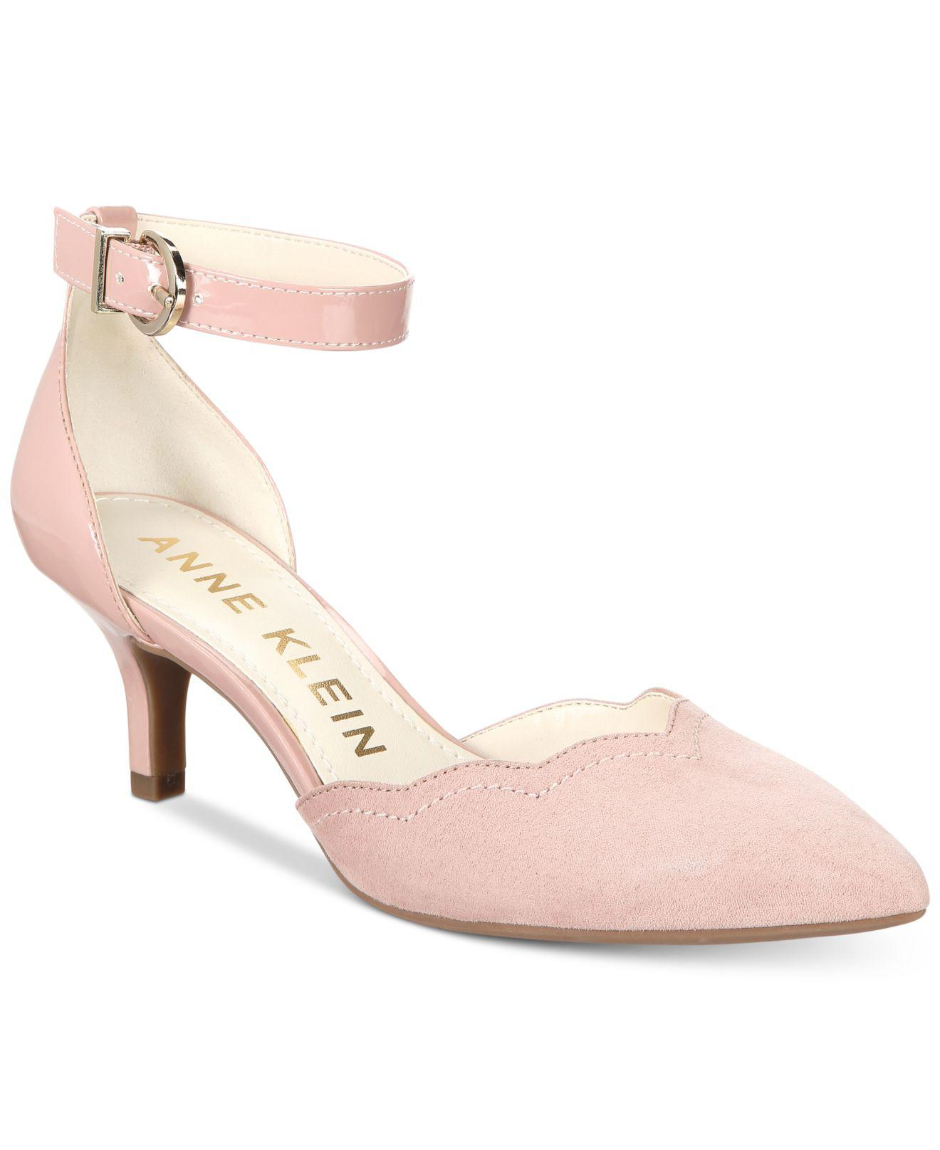 5493dc21d445 Lyst - Anne Klein Findaway Pointed-toe Pumps in Pink