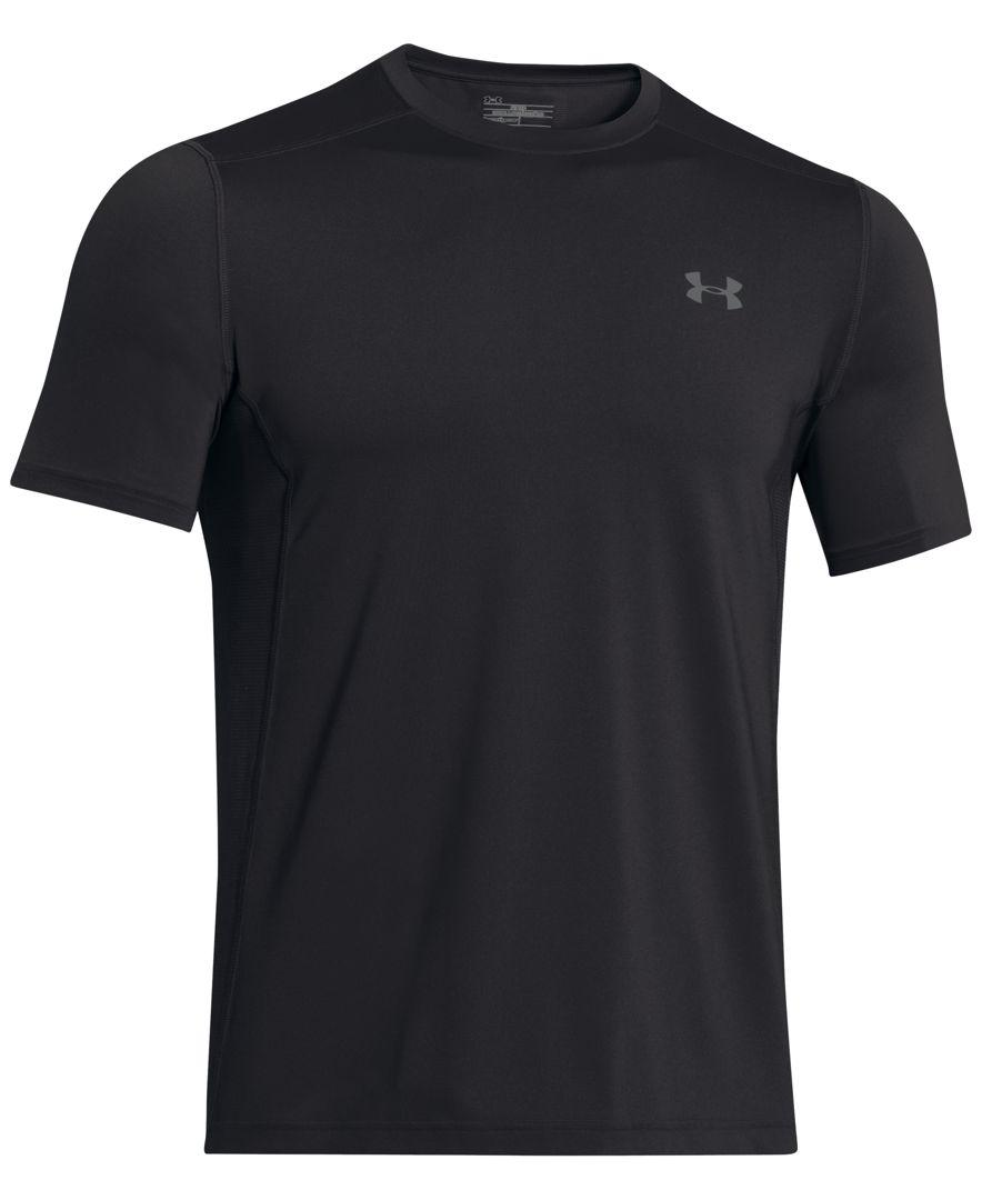 Under Armour Men 39 S Heatgear Raid Fitted T Shirt In Black