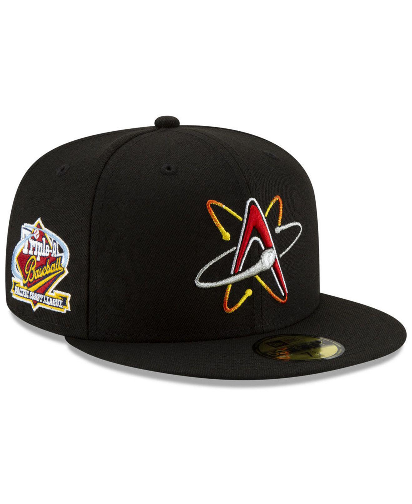 ae2e33147f322 KTZ - Black Albuquerque Isotopes League Patch 59fifty-fitted Cap for Men -  Lyst. View fullscreen