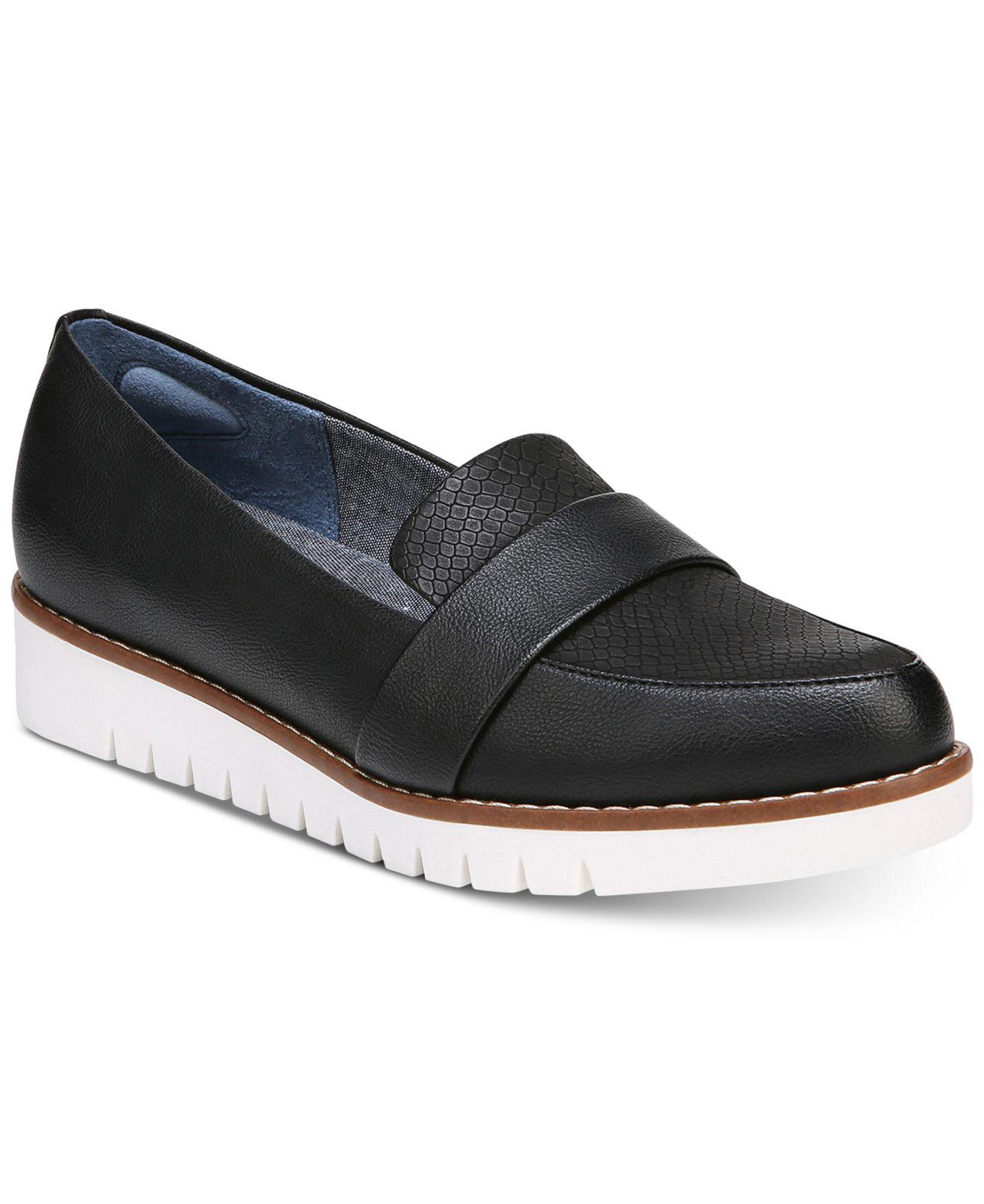 Dr. Scholls Imagine Loafers in Black - Lyst ad1d89d5634