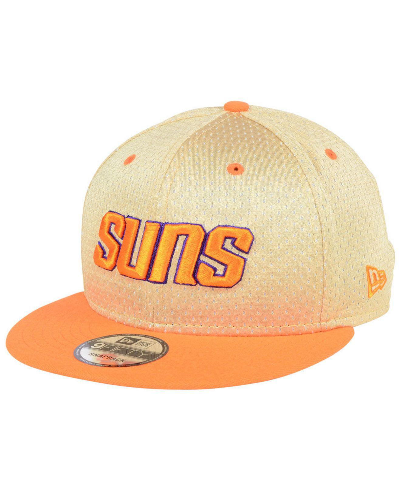 new concept 99f11 acce7 ... store phoenix suns champagne 9fifty snapback cap for men lyst. view  fullscreen 288d8 b6a78