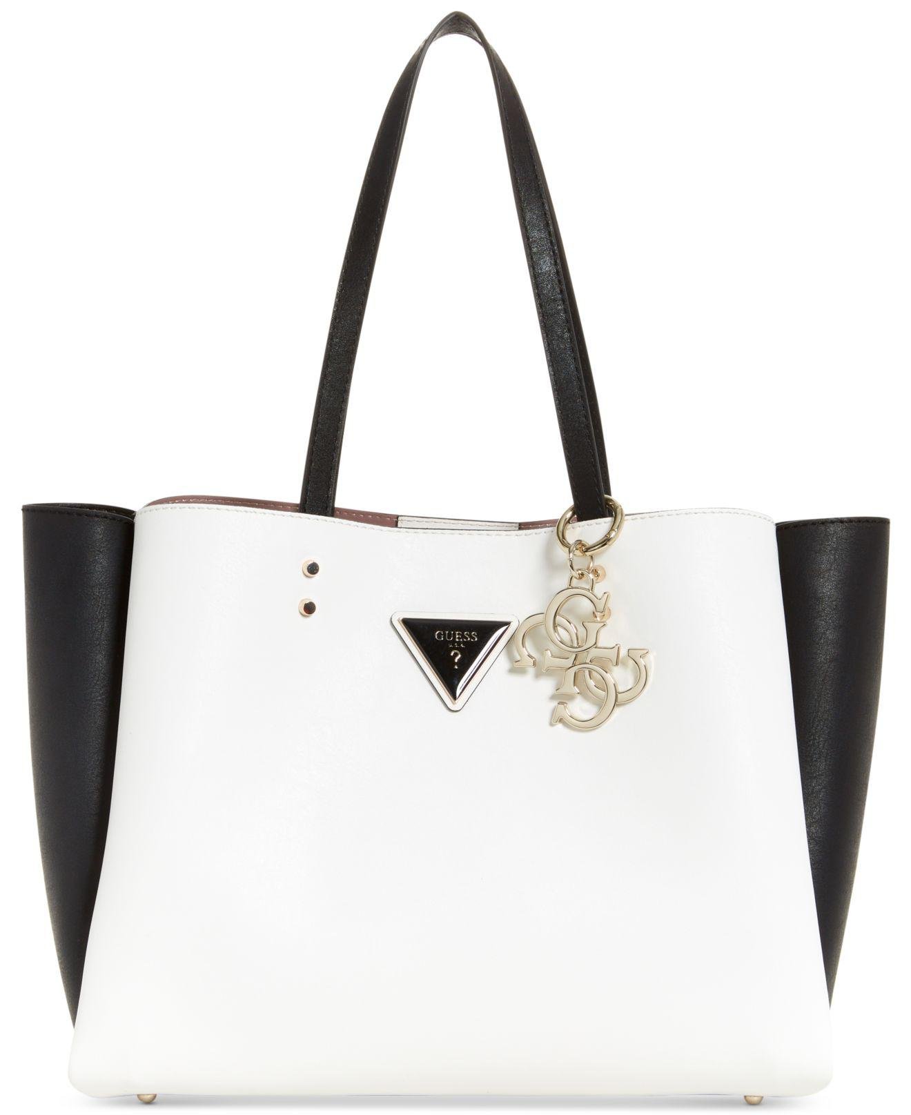 Lyst - Guess Jade Girlfriend Tote e18a9c2462e4a