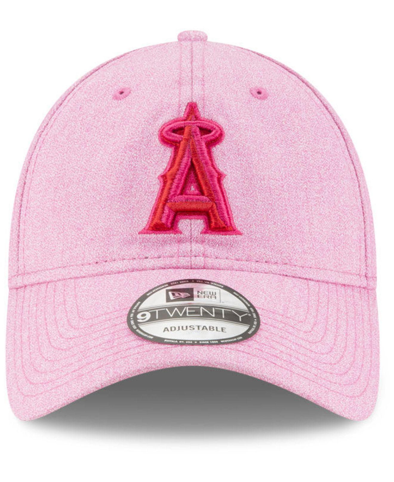 cheap for discount 0b110 28842 ... new zealand lyst ktz los angeles angels mothers day 9twenty cap in pink  6d6f6 c601f