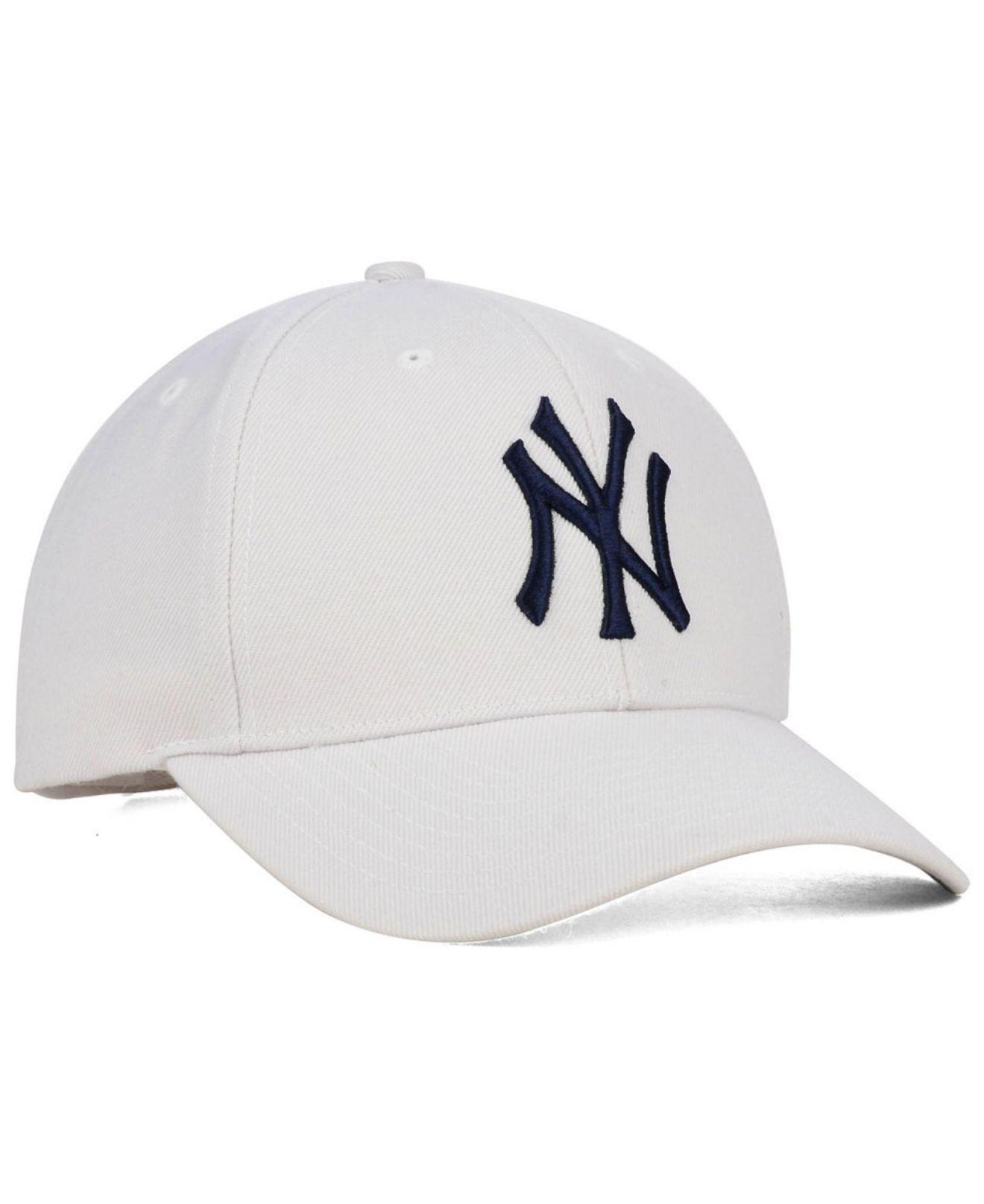 5489888e4ed19 ... sale new york yankees mvp curved cap for men lyst. view fullscreen  b4472 548d4