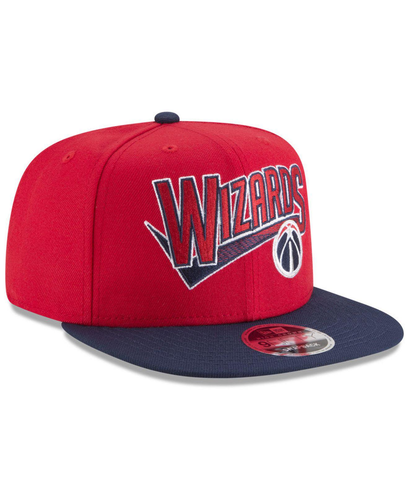 ff10d395e9aff ... where to buy washington wizards retro tail 9fifty snapback cap for men  lyst. view fullscreen