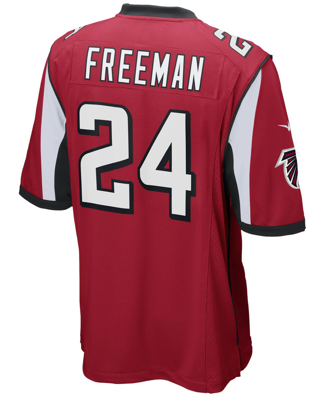 90ff68443 Nike - Red Men s Devonta Freeman Atlanta Falcons Game Jersey for Men -  Lyst. View fullscreen