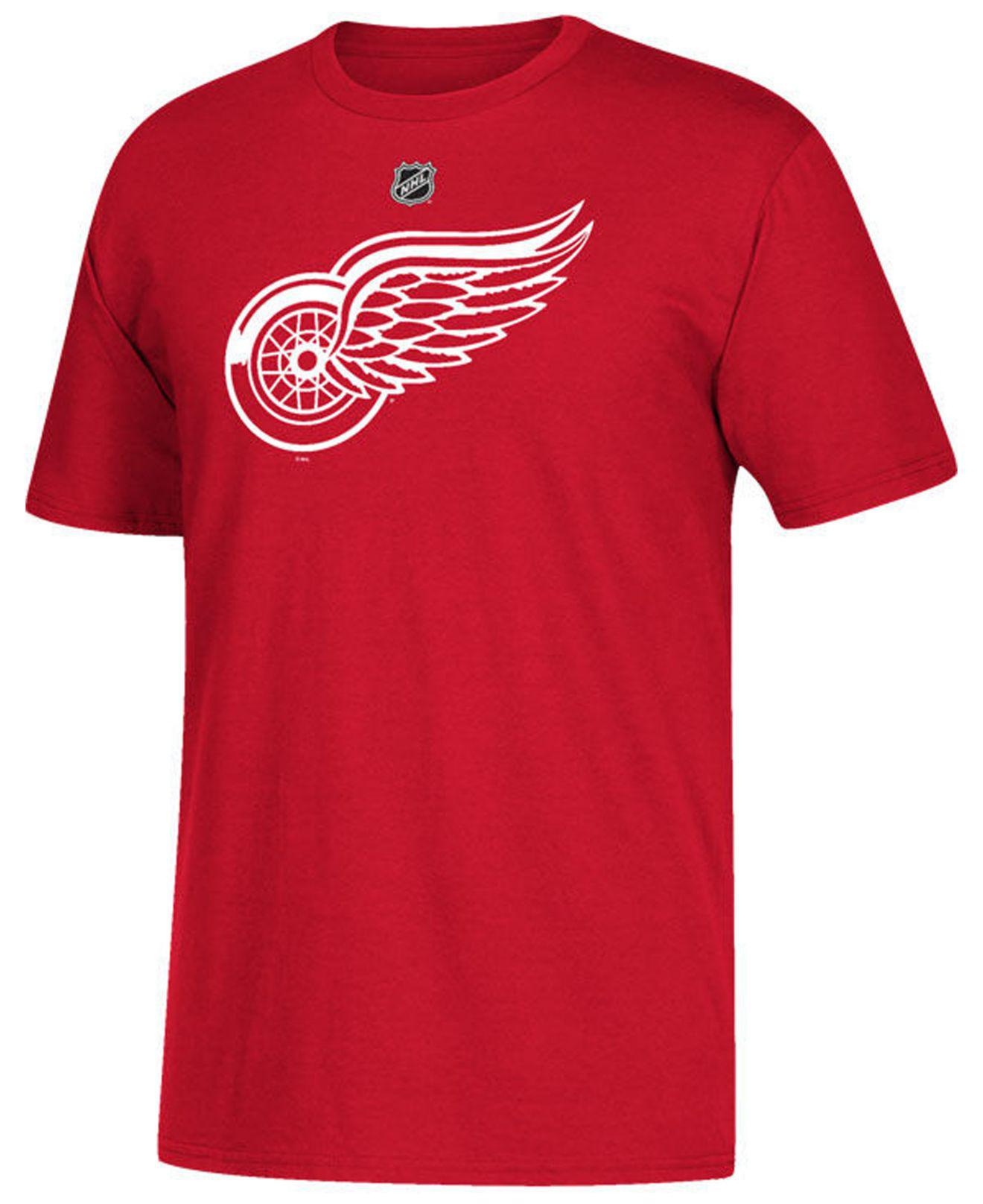 38d3d32c6 Lyst - adidas Tomas Tatar Detroit Red Wings Silver Player T-shirt in ...