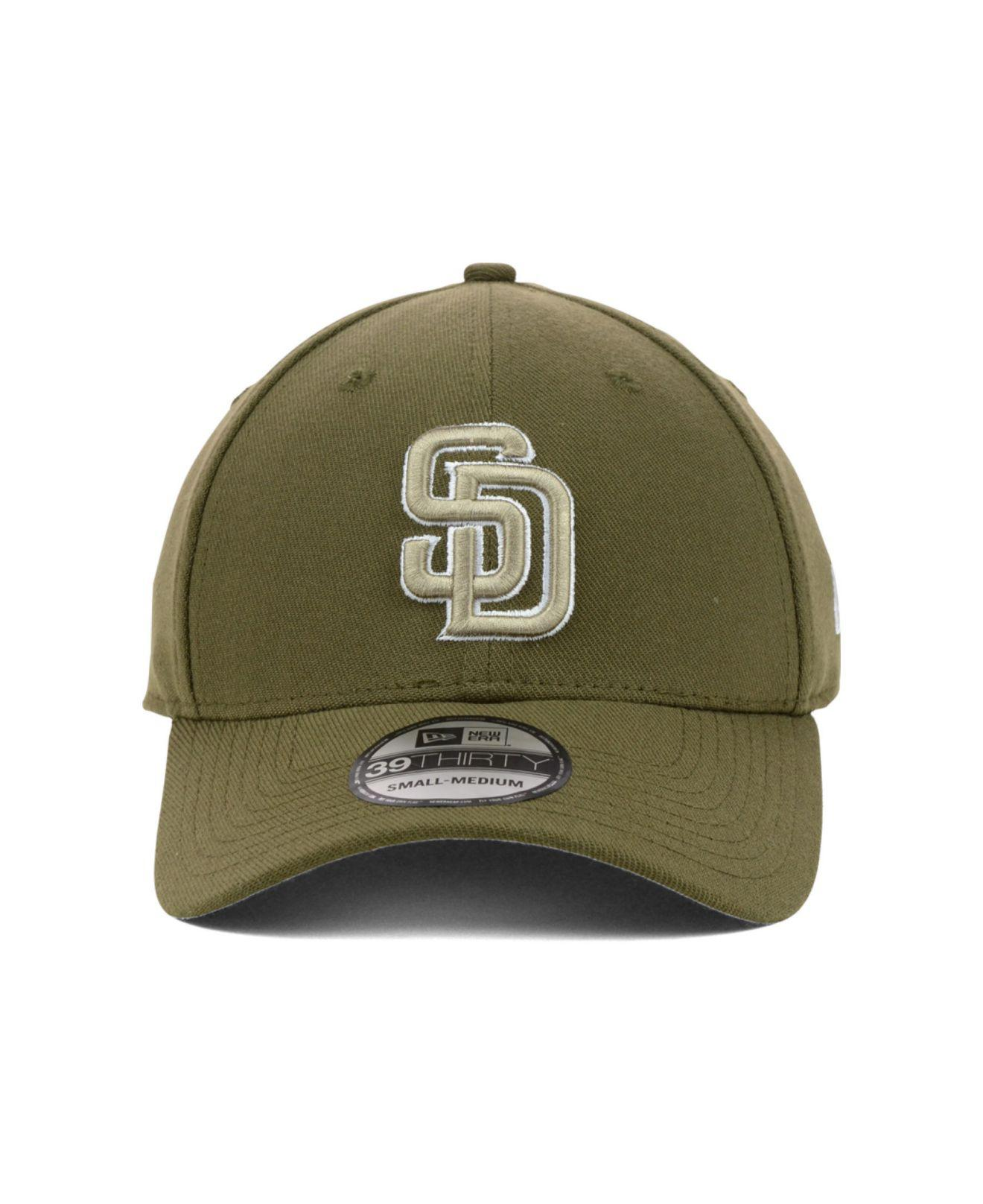 differently 76248 3b273 ... reduced lyst ktz san diego padres mlb team classic 39thirty cap in  brown 7e37a 8b546