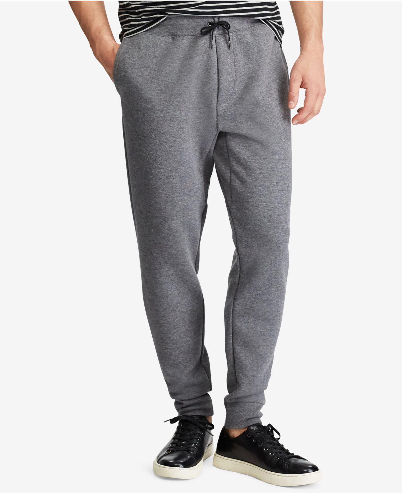 07a5837b1a7 Lyst - Polo Ralph Lauren Men s Big   Tall Double-knit Jogger Pants ...