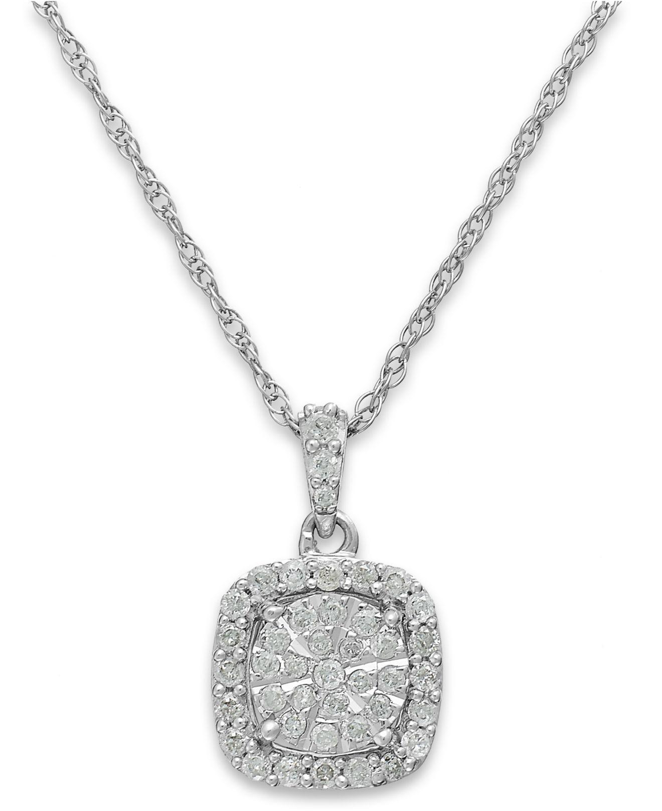 Gurhan Malibu Cushion Pendant Necklace isDGbncvm