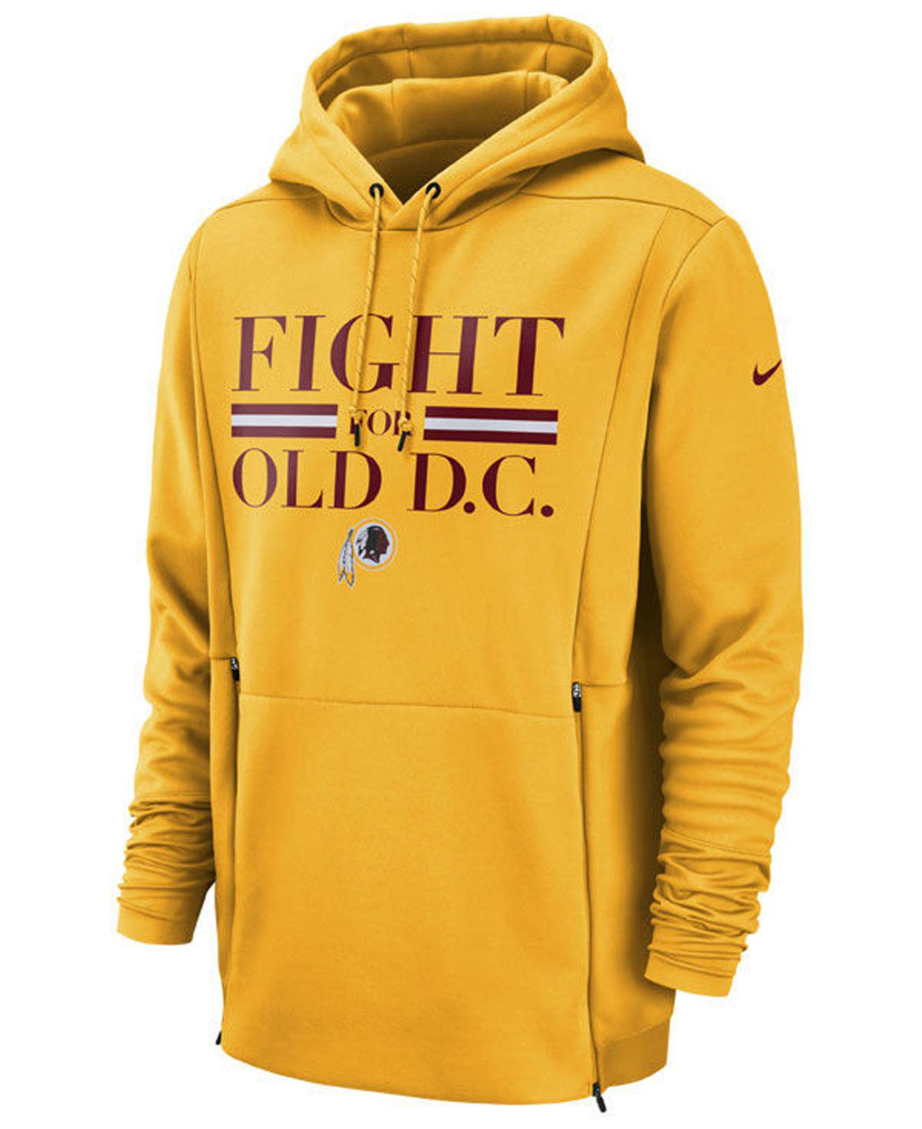 c8927822c Lyst - Nike Washington Redskins Sideline Player Local Therma Hoodie ...