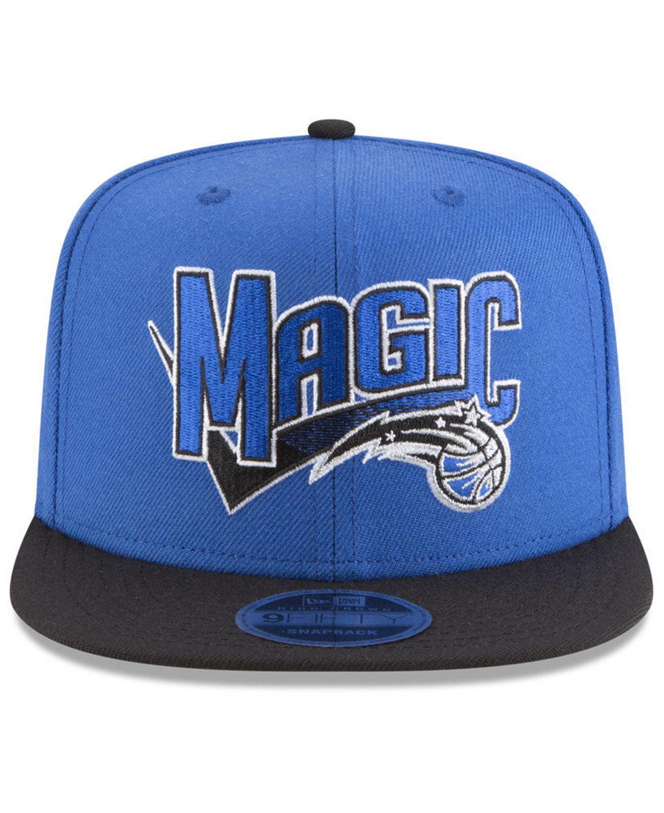 super popular 68d27 51b1d Lyst - KTZ Orlando Magic Retro Tail 9fifty Snapback Cap in Blue for Men