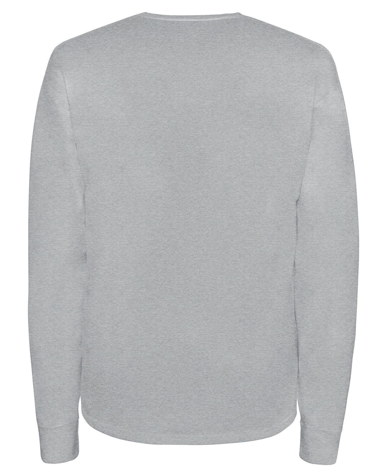 e983a0e6 Lyst - Champion Long-sleeve Logo T-shirt in Gray for Men