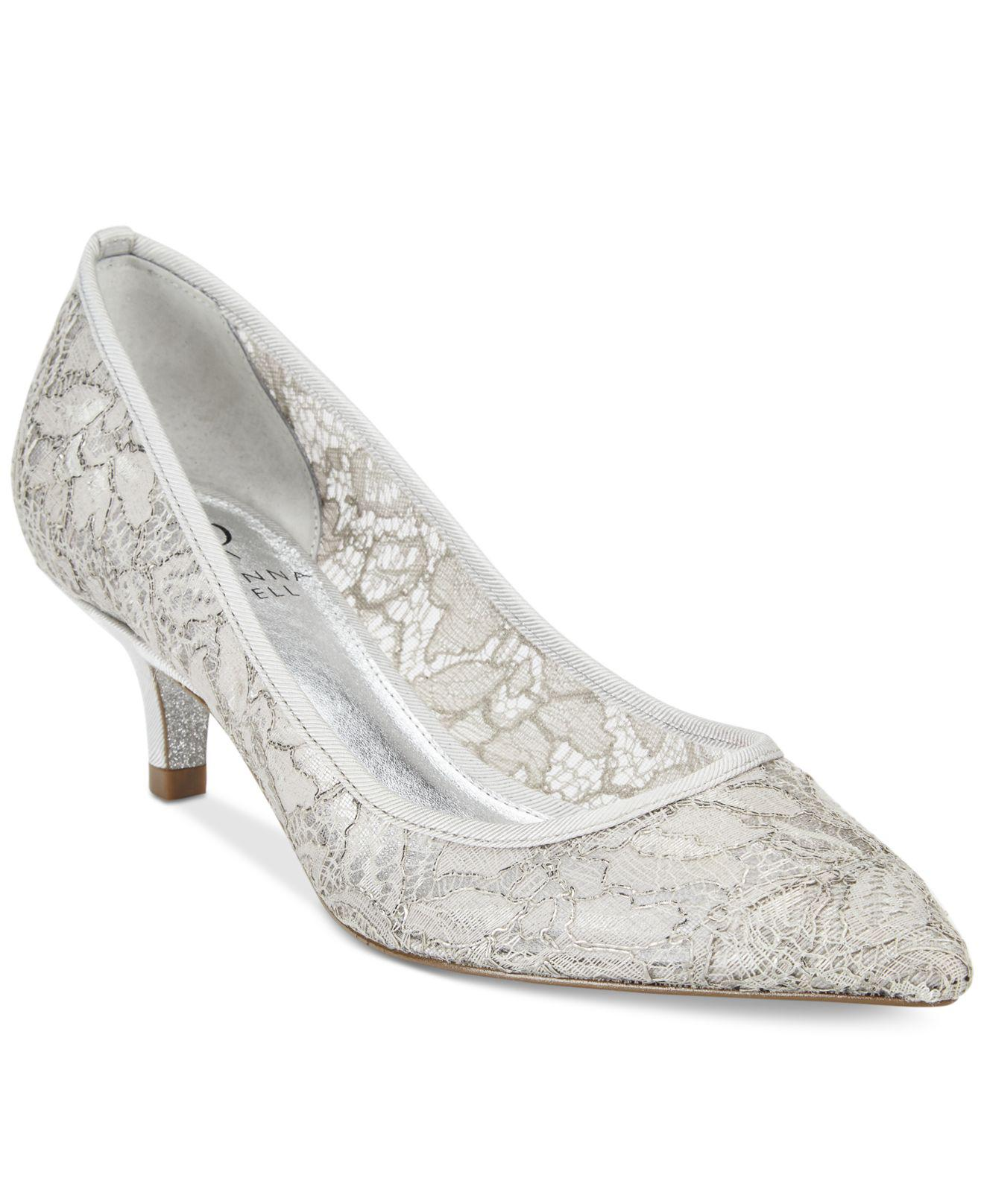 Adrianna Papell Lois Lace Dress Pumps VPddD
