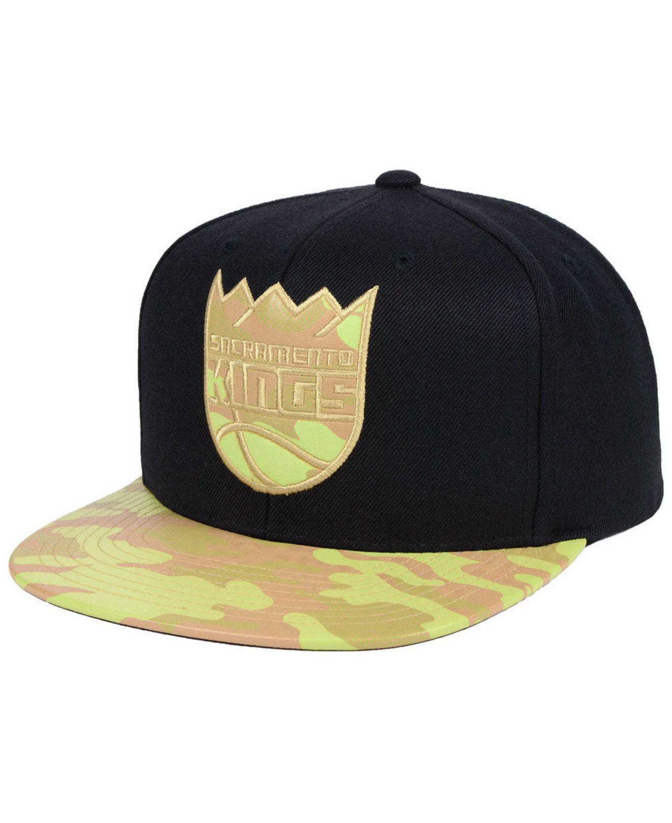 check out 17759 72855 ... where can i buy mitchell ness. black sacramento kings natural camo snapback  cap 4c611 3c765
