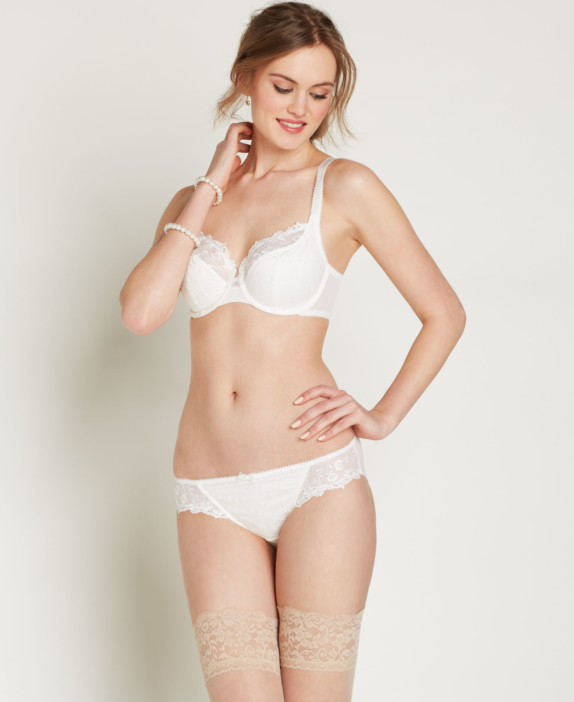 Lunaire Whimsy By Saint Croix Underwire Bra 10111 in White | Lyst