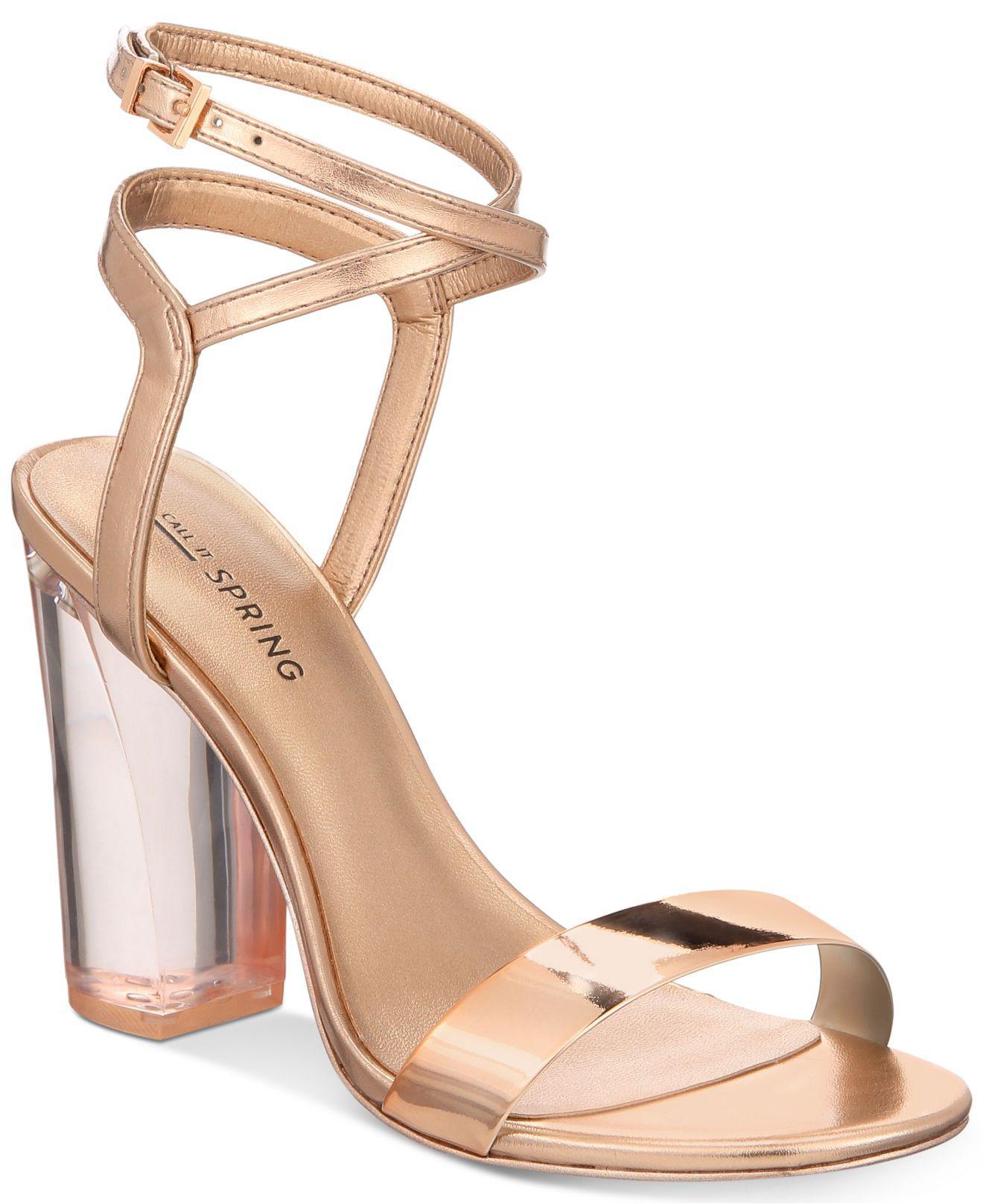 Call it Spring OCALIDE - High heeled sandals - denim D7JjyI