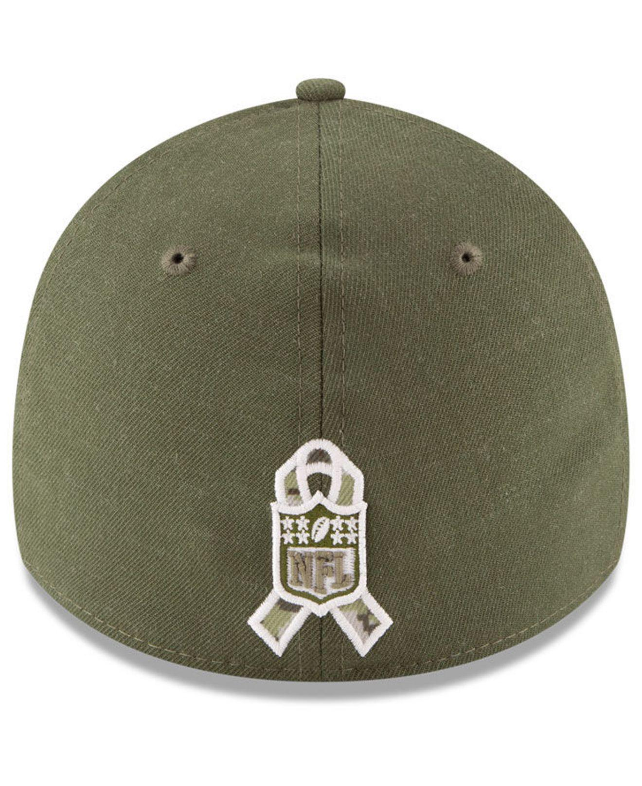 Lyst - Ktz New York Giants Salute To Service 39thirty Cap in Green for Men fed06d73c