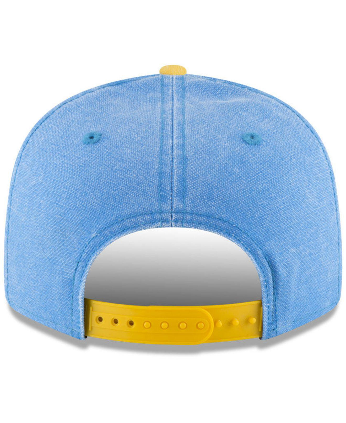 free shipping 9f4d1 593b6 ... store lyst ktz ucla bruins rugged canvas snapback cap in blue for men  02709 75e7d