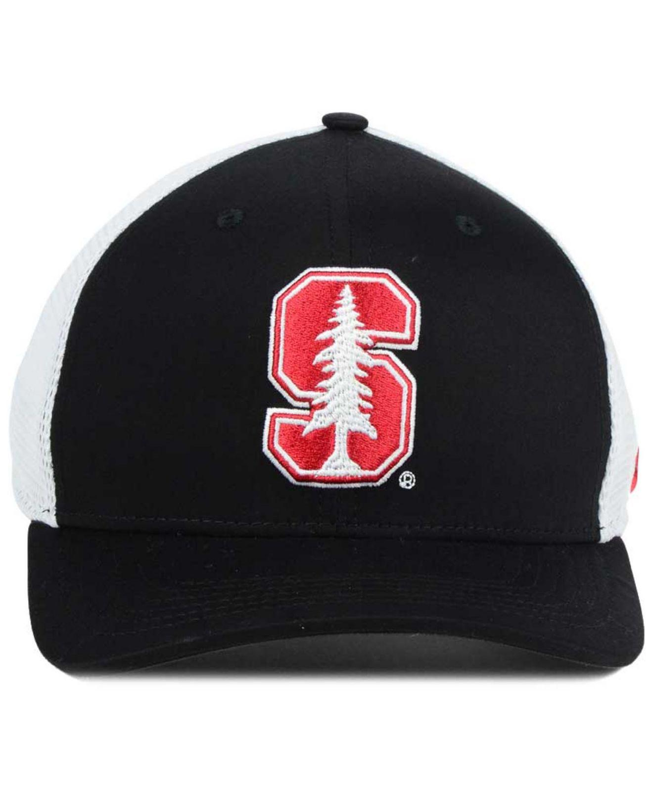 84bdefc9 ... denmark lyst nike stanford cardinal aero bill mesh swooshflex cap in  black for men 6ead7 3a871