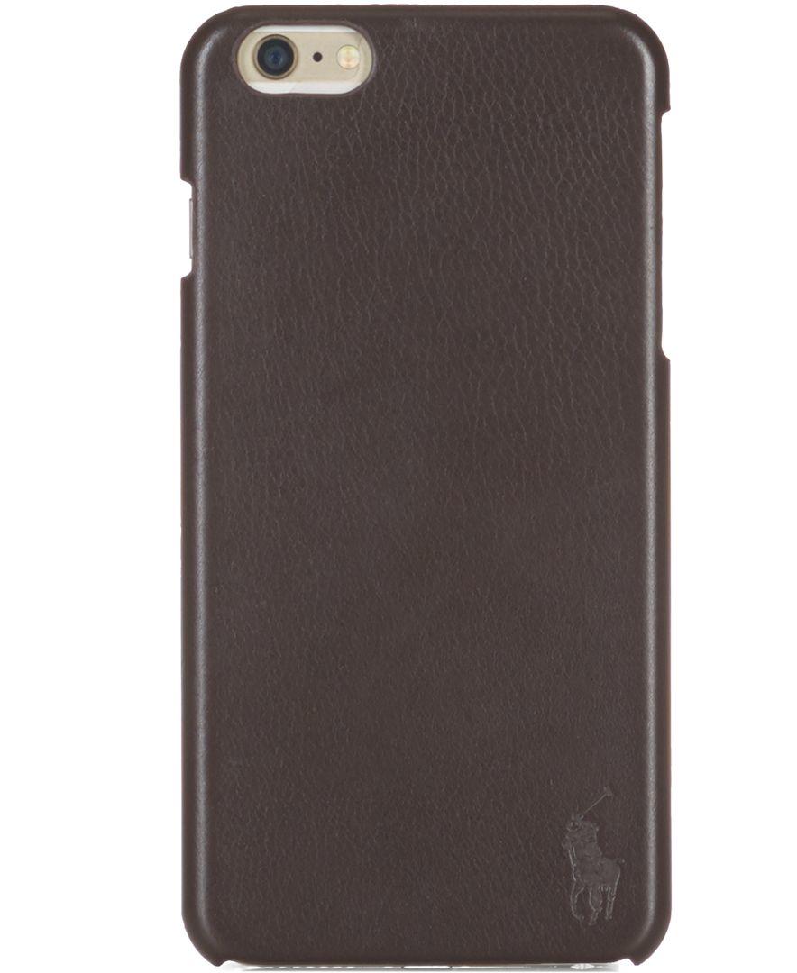 Polo ralph lauren Iphone Case in Brown for Men | Lyst