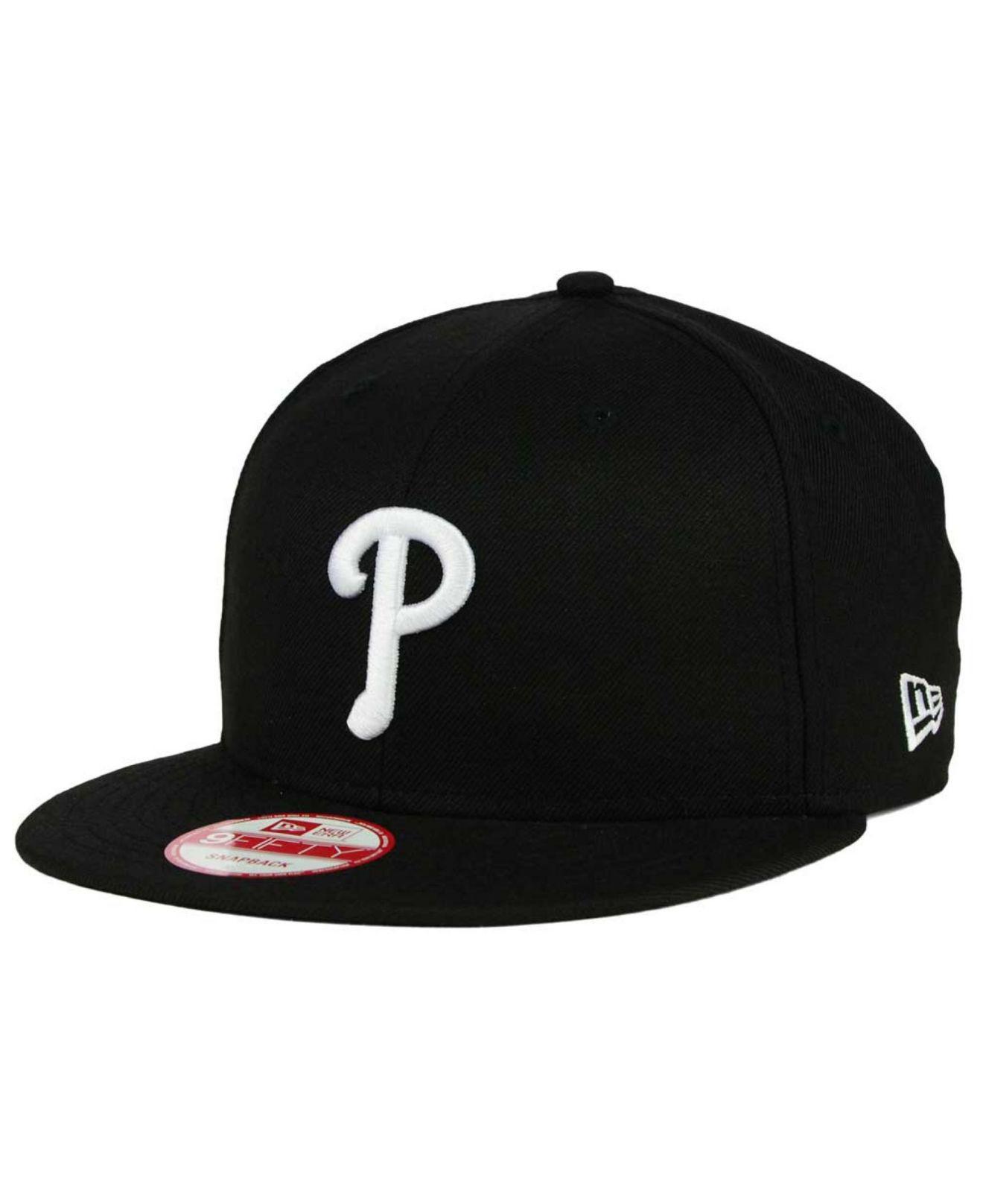 low priced c8256 f4dd6 get mens philadelphia new era gray black fitted hat 2415c 2d111  authentic  ktz. mens black philadelphia phillies b dub 9fifty snapback cap 27124 b5dbb