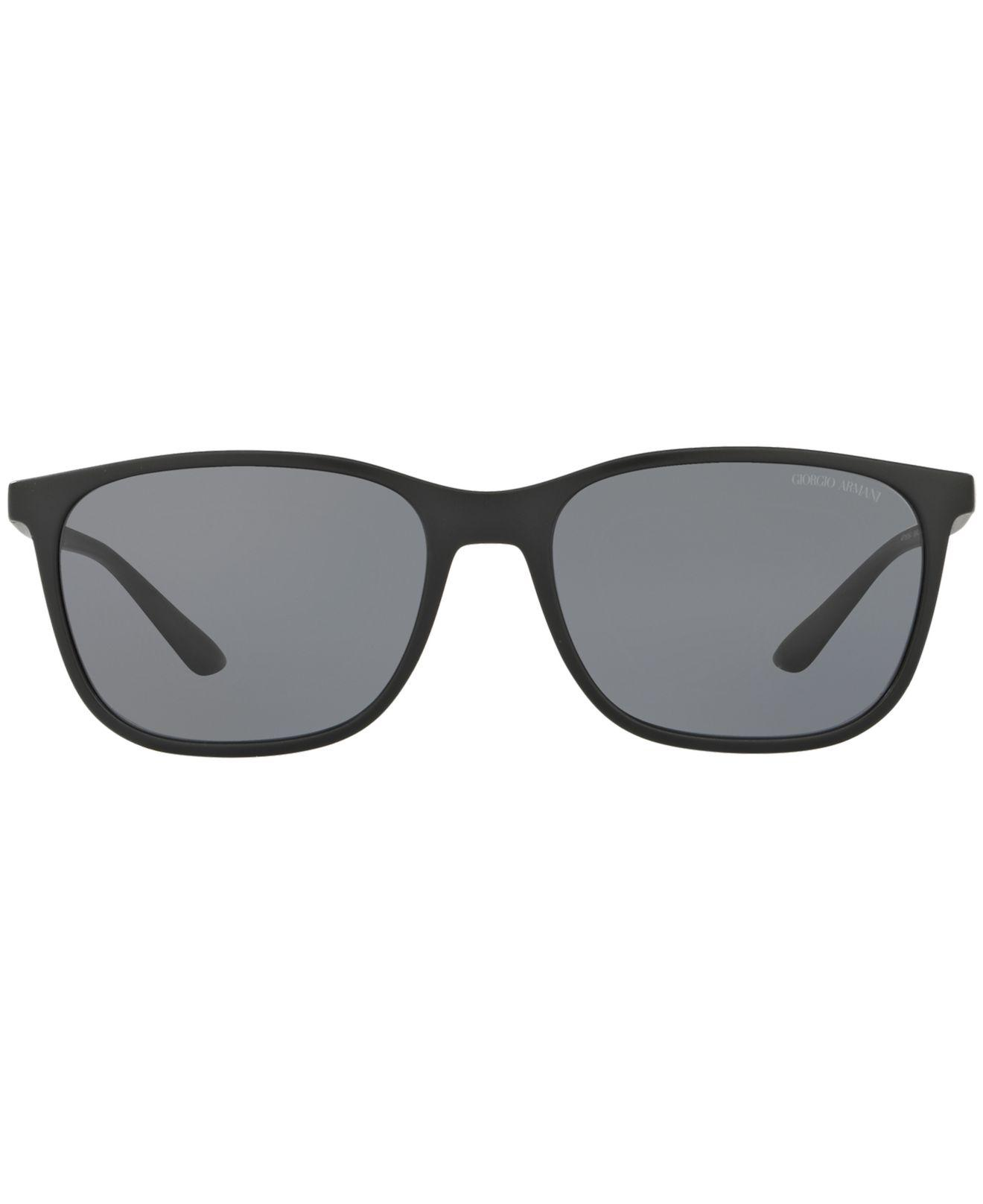 2be049374f49 Lyst - Giorgio Armani Polarized Sunglasses