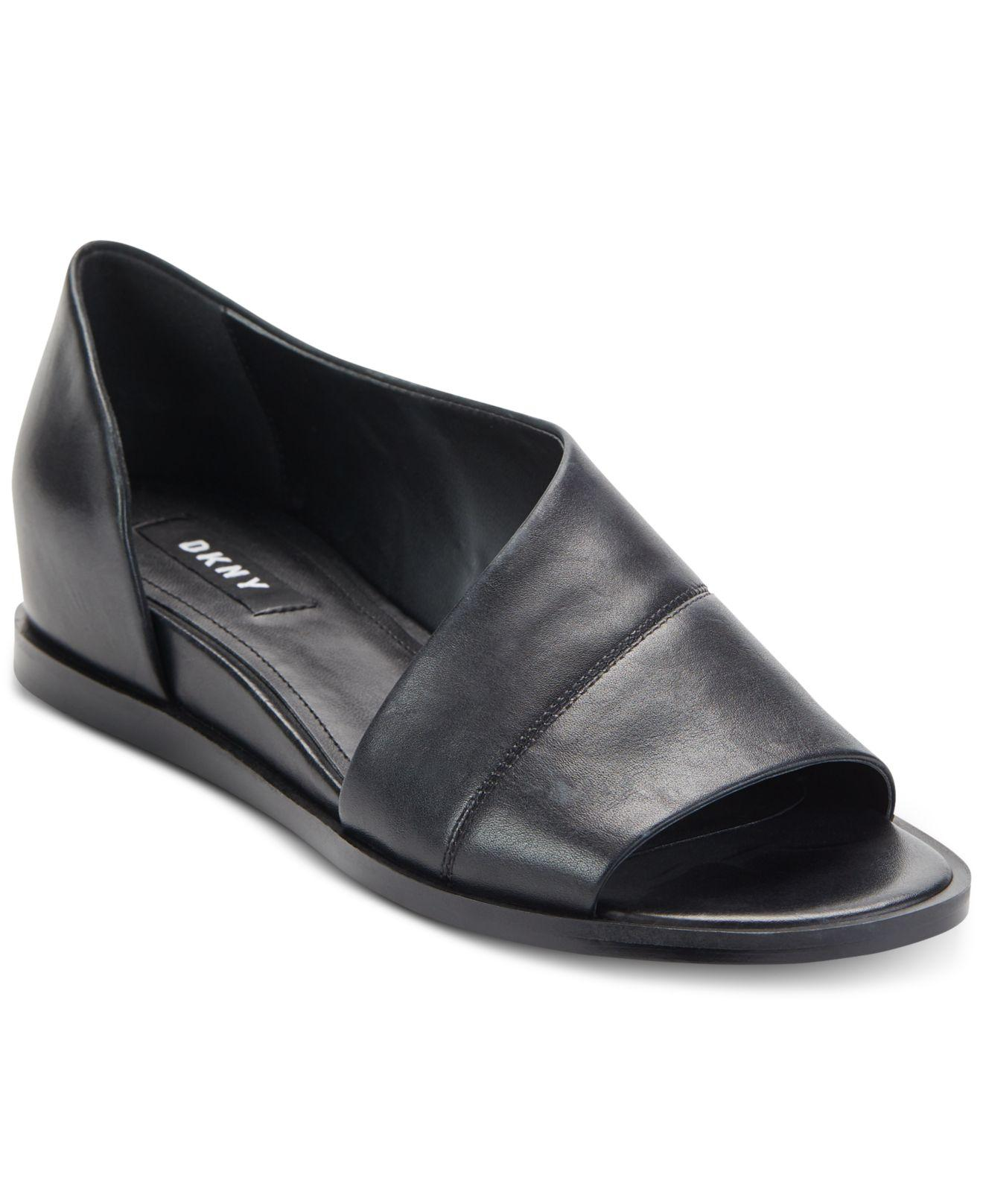 8f85b3cdb DKNY Dya Flats, Created For Macy's in Black - Lyst