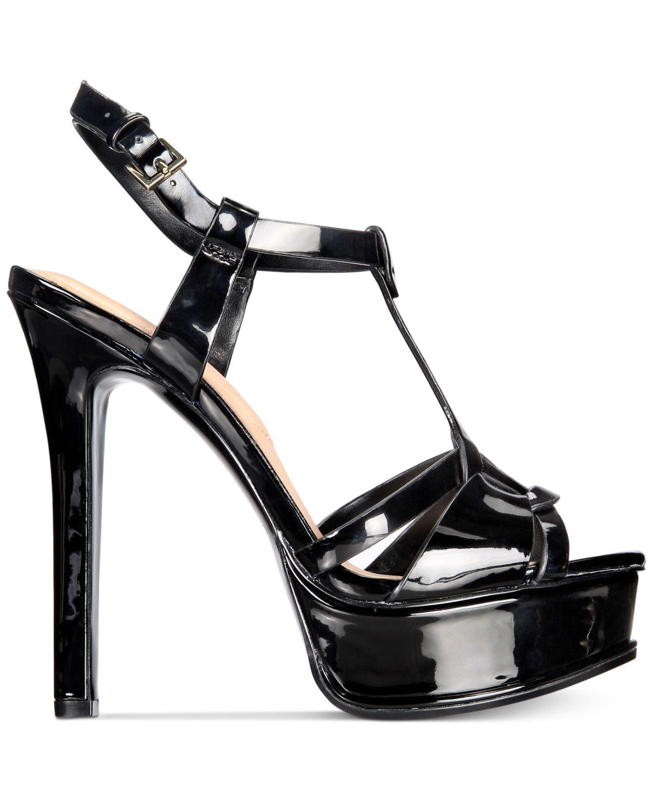 db492d6d24e ALDO - Black Chelly Platform Dress Sandals - Lyst. View fullscreen