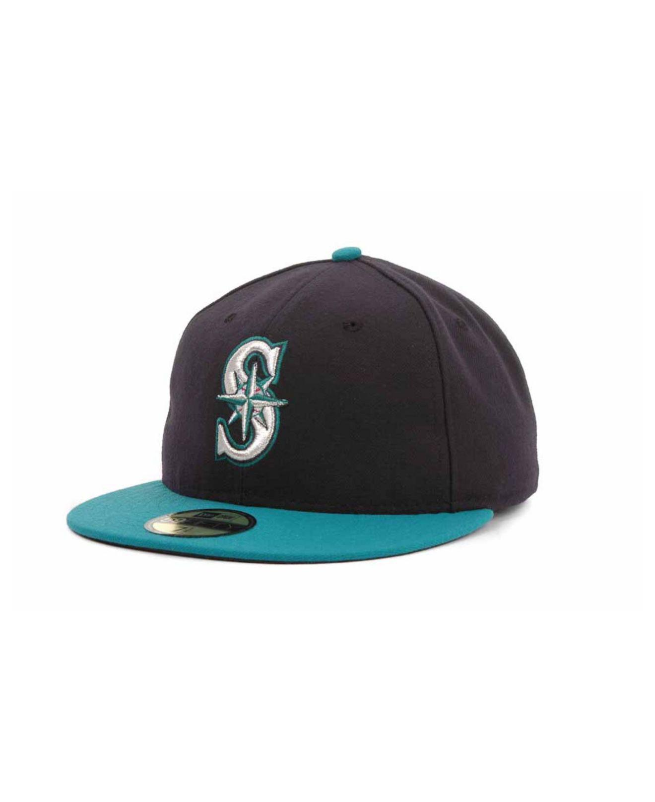 3a168673512 Lyst - Ktz Seattle Mariners Mlb Authentic Collection 59fifty Cap in ...