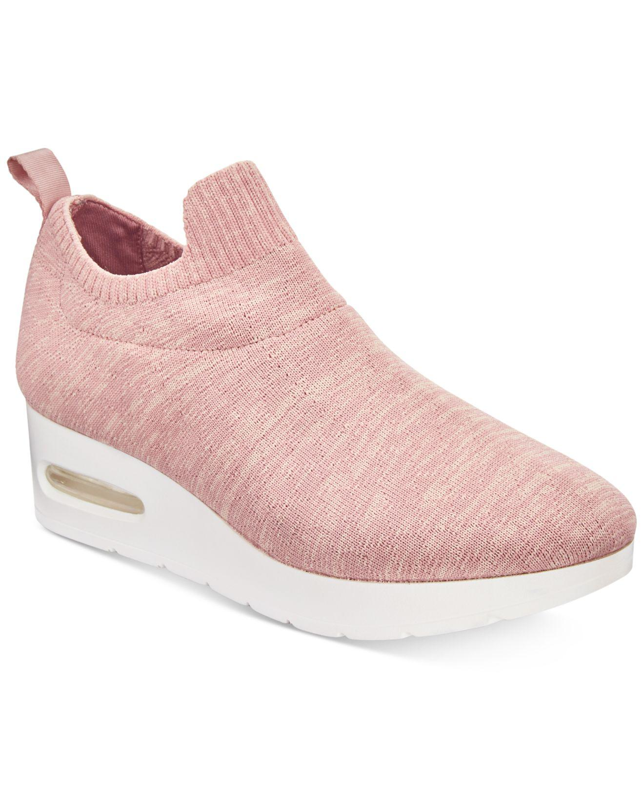 a339aba4348 Lyst - DKNY Angie Slip-on Shoes in Pink