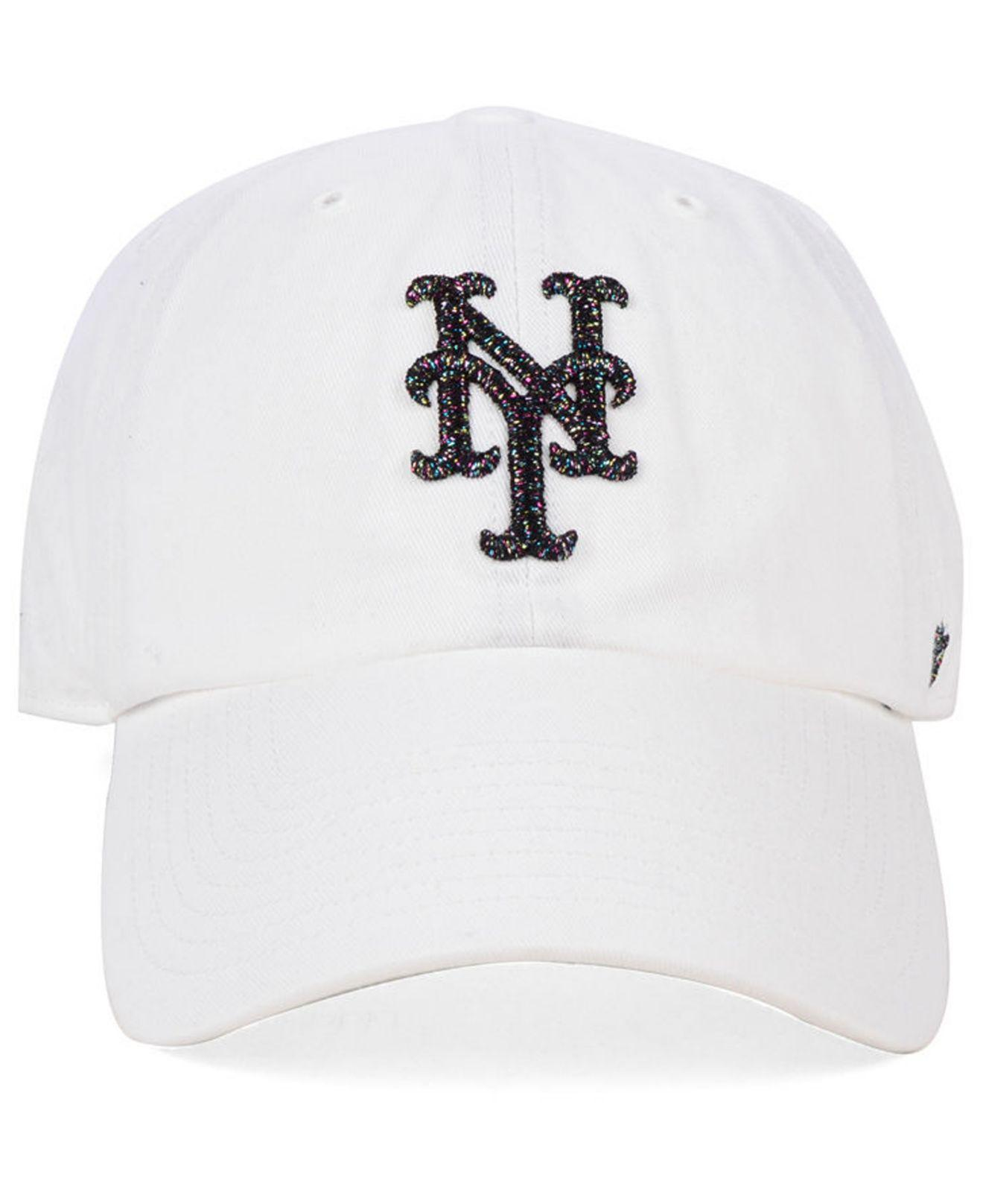 523870cd872 Lyst - 47 Brand New York Mets Galactic Clean Up Cap in White for Men