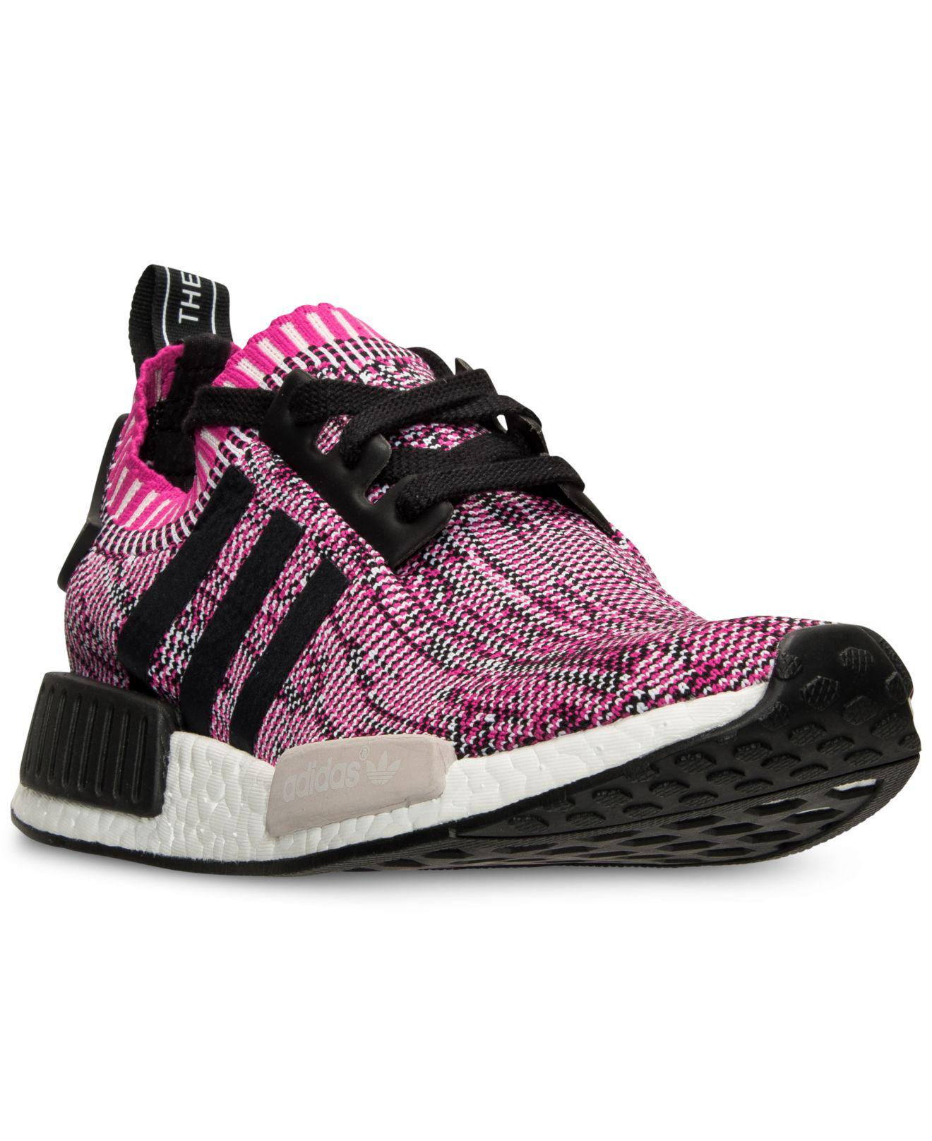 4fb0b030a162f adidas Women's Nmd Xr1 Primeknit Casual Sneakers From Finish Line in ...