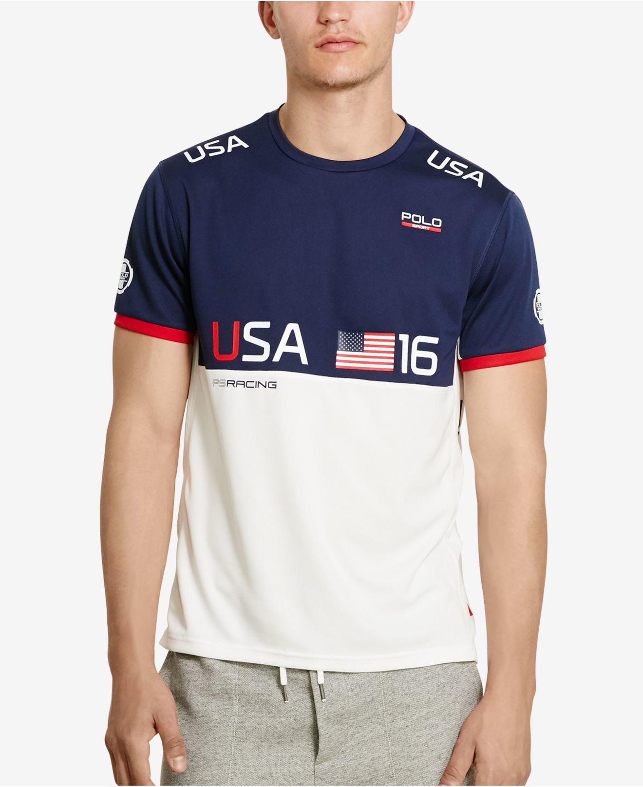 polo ralph lauren polo sport men 39 s team usa micro dot. Black Bedroom Furniture Sets. Home Design Ideas