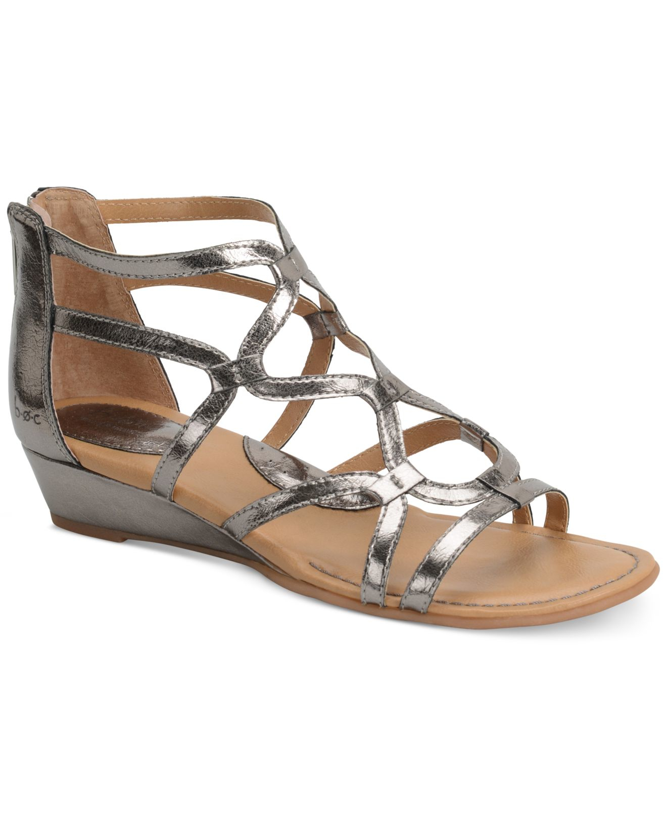B 248 C Pawel Dress Sandals In Metallic Lyst