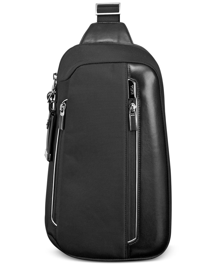 Tumi Men's Arrive Massena Sling Bag in Black for Men
